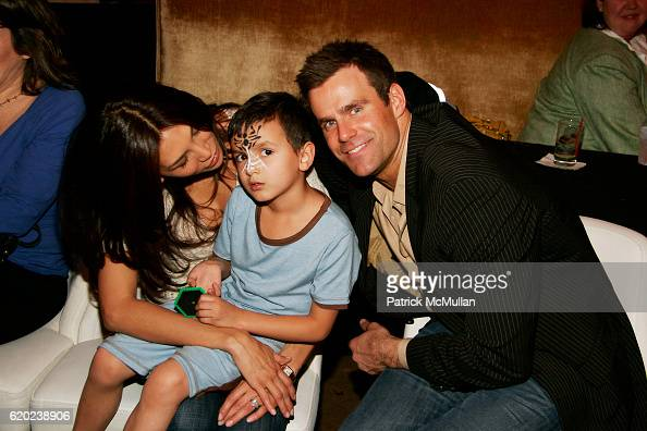 Cameron Mathison and Vanessa Arevalo with their son Lucas