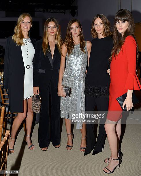 Vanessa Axente Andreea Diaconu Josephine Le Tutour Gia Coppola and Vanessa Moody attend The 10th Annual Golden Heart Awards Celebration on October 17...