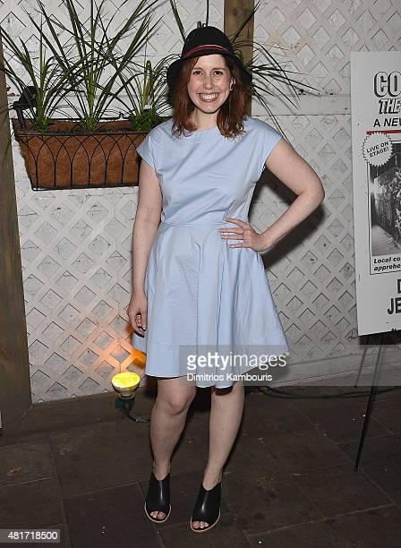 Vanessa Bayer attends 'Colin Quinn The New York Story' Opening Night at Duet Brasserie on July 23 2015 in New York City