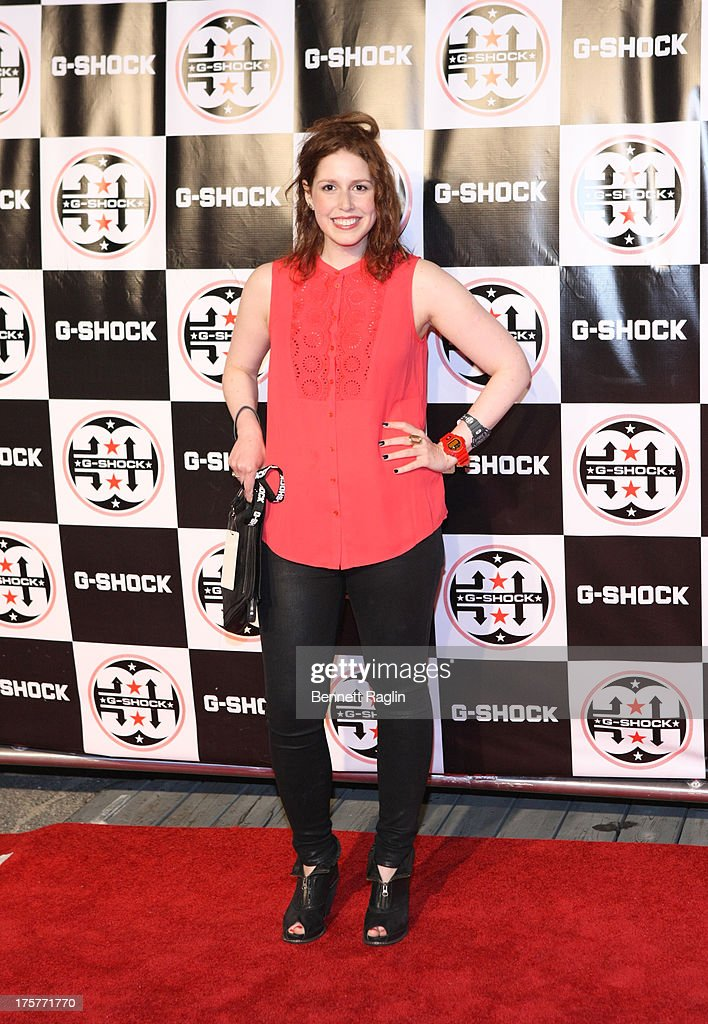 Vanessa Bayer attends G-Shock - Shock The World 2013 at Basketball City - Pier 36 - South Street on August 7, 2013 in New York City.