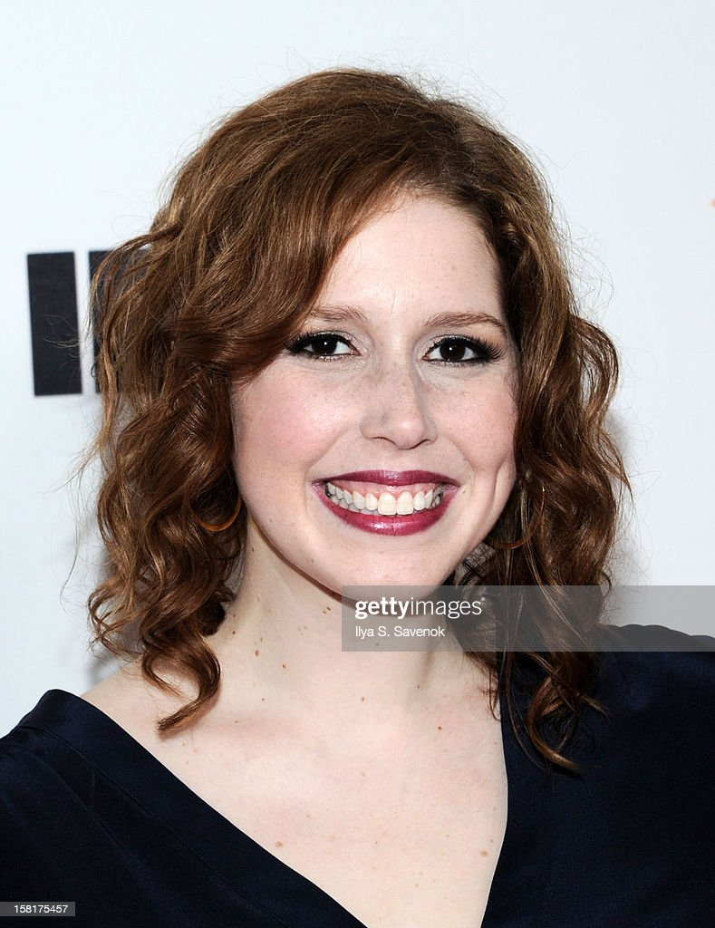Vanessa Bayer attends IFC's 'Portlandia' Season 3 New York Premiere at American Museum of Natural History on December 10, 2012 in New York City.