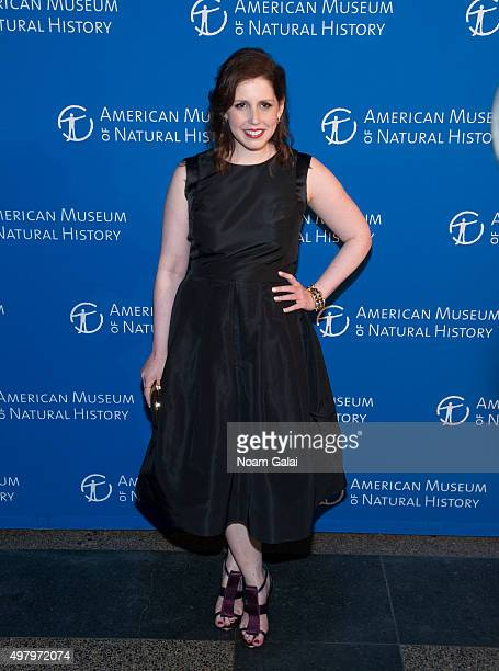 Vanessa Bayer attends the 2015 American Museum of Natural History Museum Gala at American Museum of Natural History on November 19 2015 in New York...