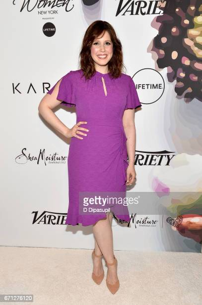 Vanessa Bayer attends Variety's Power of Women New York at Cipriani Midtown on April 21 2017 in New York City