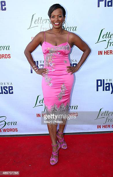 Vanessa Bell Calloway arrives at 'Letters From Zora In Her Own Words' opening night at the Pasadena Playhouse on May 11 2014 in Pasadena California