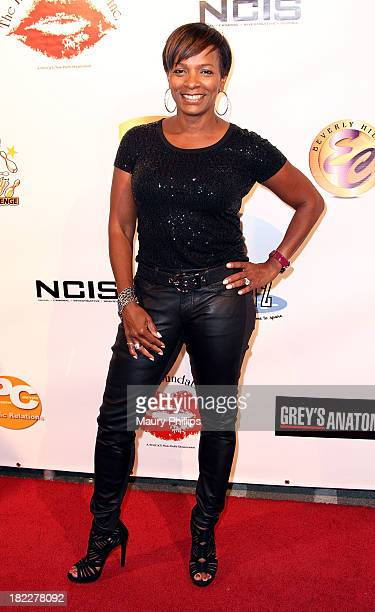 Vanessa Bell Calloway arrives at the 10th Annual Celebrity Bowling Challenge hosted by KiKi Shepard at PINZ Entertainment Center on September 28 2013...