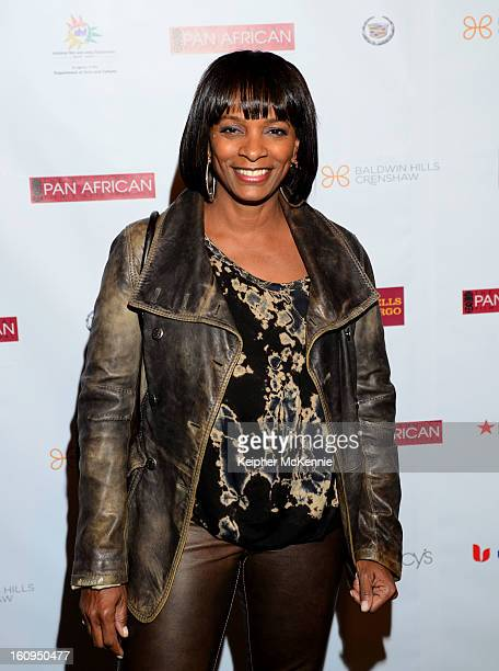 Vanessa Bell Calloway attends 21st Annual Pan African Film Festival Opening Night Gala premiere of Vipaka at DGA Theater on February 7 2013 in Los...