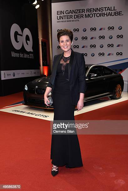 Vanessa Blumhagen arrives at the GQ Men of the year Award 2015 at Komische Oper on November 5 2015 in Berlin Germany