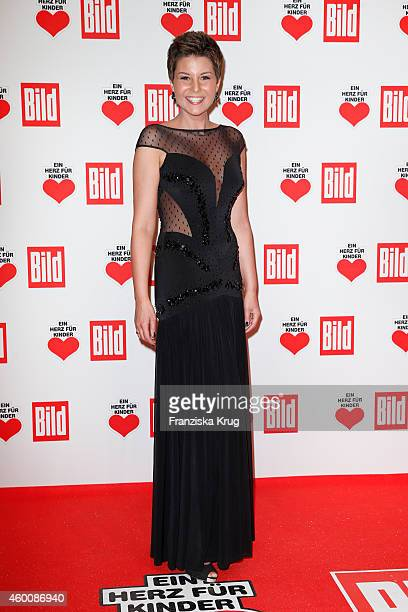 Vanessa Blumhagen attend the Ein Herz Fuer Kinder Gala 2014 Red Carpet Arrivals on December 6 2014 in Berlin Germany