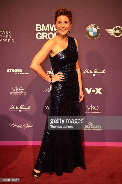 Vanessa Blumhagen attends Babor at the Duftstars Awards 2014 at arena Berlin on May 15 2014 in Berlin Germany