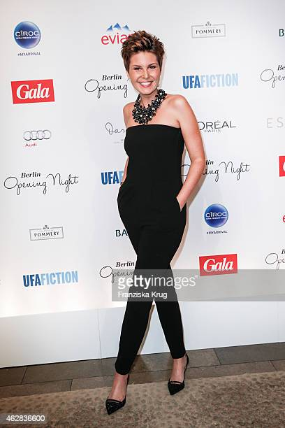 Vanessa Blumhagen attends the 'Berlin Opening Night Of Gala Ufa Fiction on February 05 2015 in Berlin Germany