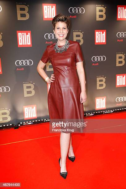 Vanessa Blumhagen attends the Bild 'Place to B' Party on February 07 2015 in Berlin Germany