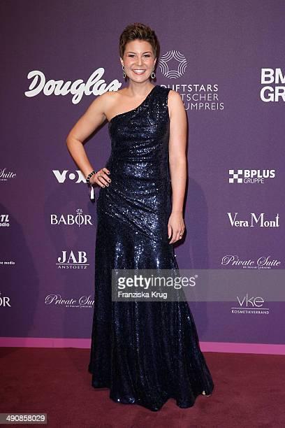 Vanessa Blumhagen attends the Douglas At Duftstars Awards 2014 at Arena Berlin on May 15 2014 in Berlin Germany