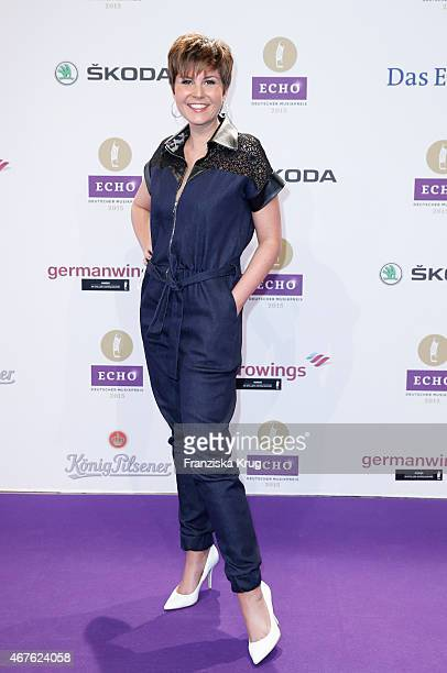 Vanessa Blumhagen attends the Echo Award 2015 on March 26 2015 in Berlin Germany