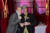Vanessa Bruno and brother Martin Bruno attend Le Fooding 2013 Culinary Awards at the Cirque d'Hiver on November 25 2013 in Paris France