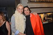Vanessa Bruno and India Mahdavi attend the Fooding 15th Anniversary Party Day two at Marche Paul Bert Serpette Porte de Clignancourt on June 6 2015...