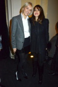 Vanessa Bruno and Keren Ann attend the Vanessa Bruno Show F/W 2013 at Hotel des Invalides on March 1rst 2013 in Paris France