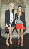 Vanessa Bruno and Rachel Bilson attend Vanessa Bruno Dinner at Chateau Marmont on July 21 2010 in Los Angeles California