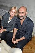Vanessa BrunoGaspar Noe attend 'Le Bal Jaune 2015' Dinner Party At Hotel Salomon de Rothschild during FIAC on October 23 2015 in Paris France