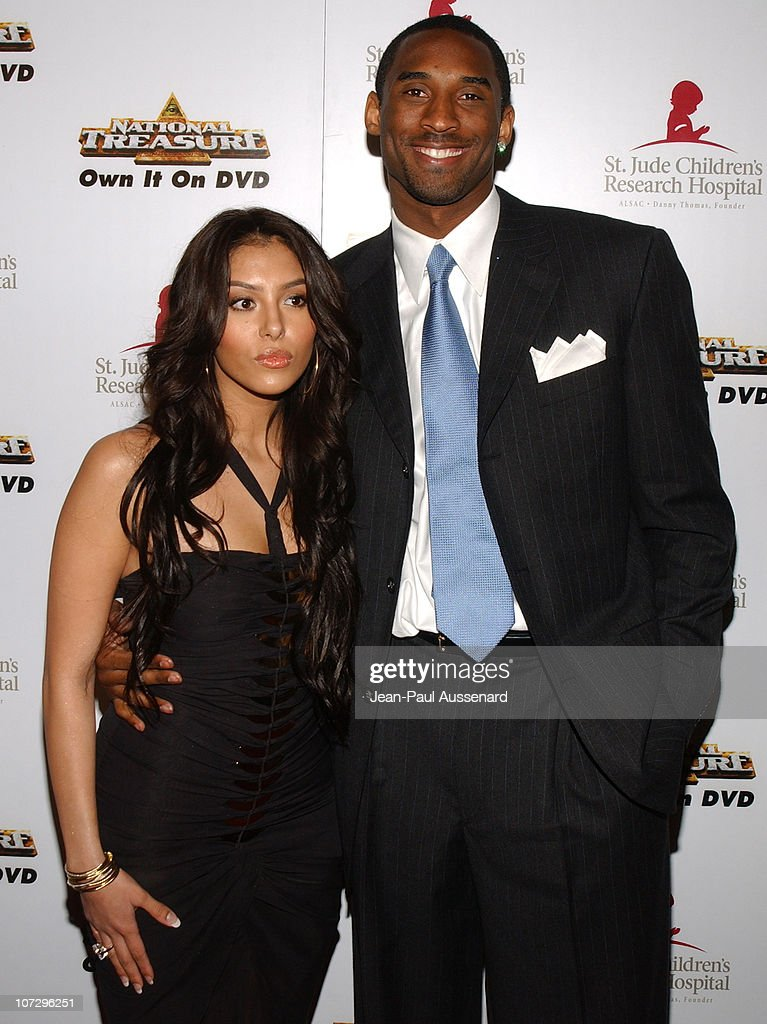 Vanessa Bryant and Kobe Bryant during 3rd Annual Runway For Life Benefiting St Jude Children's Research Hospital Arrivals at Beverly Hilton in...