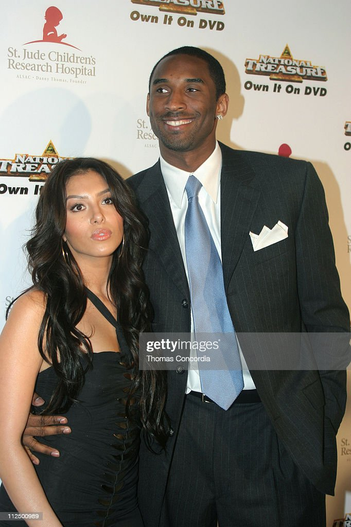 Vanessa Bryant and Kobe Bryant during 3rd Annual Runway For Life Benefiting St Jude Children's Research Hospital Red Carpet at Beverly Hilton in...