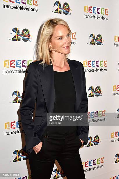 Vanessa Burggraf attends France Television presents its programs 20162017 at France Television studios on June 29 2016 in Paris France