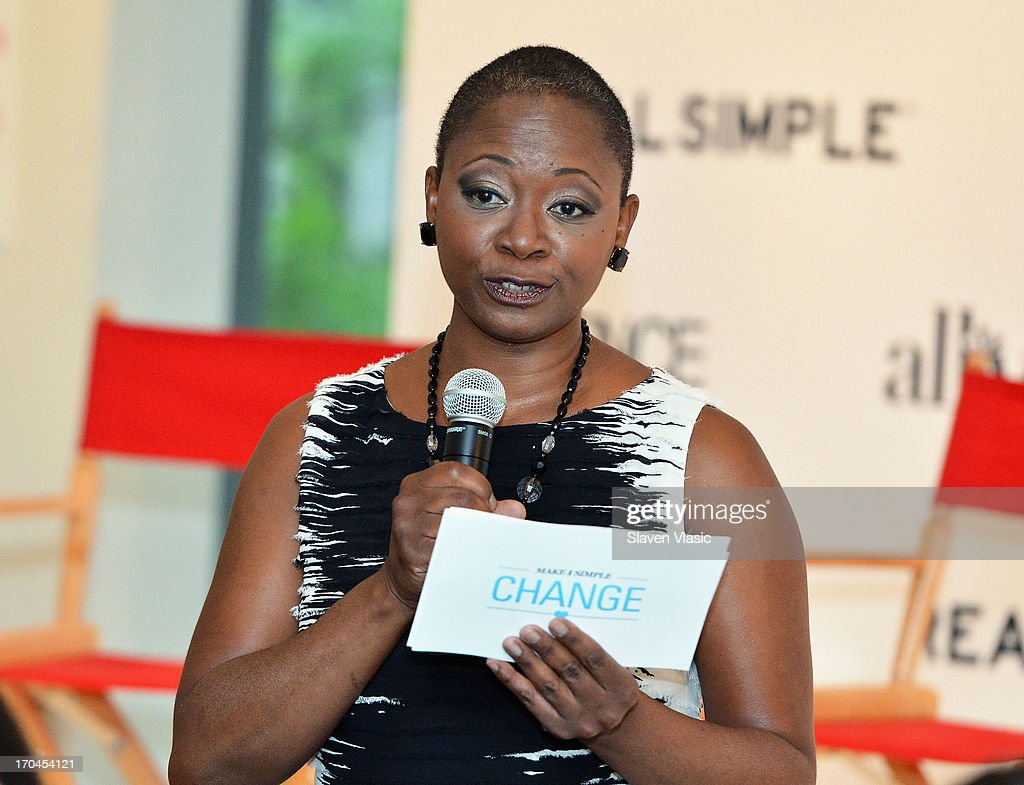 Vanessa Bush, Essence magazine editor-in-chief attends 'Make One Simple Change' panel and breakfast at Time-Life Building on June 13, 2013 in New York City.