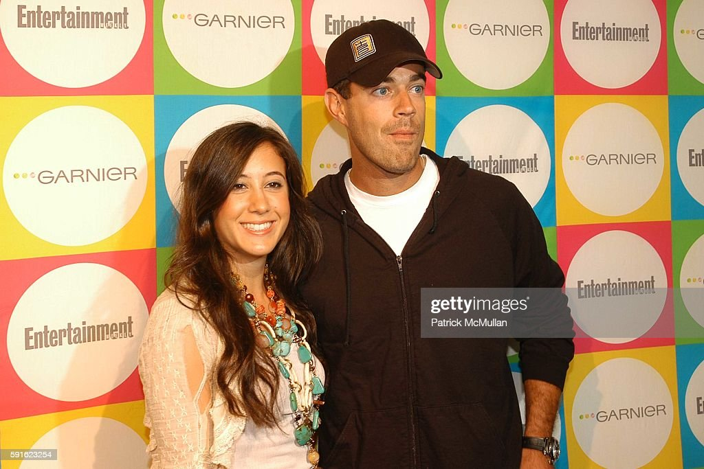 Vanessa Carlton and Carson Daly attend Entertainment Weekly's Must List Party at Deep on June 16 2005 in New York City