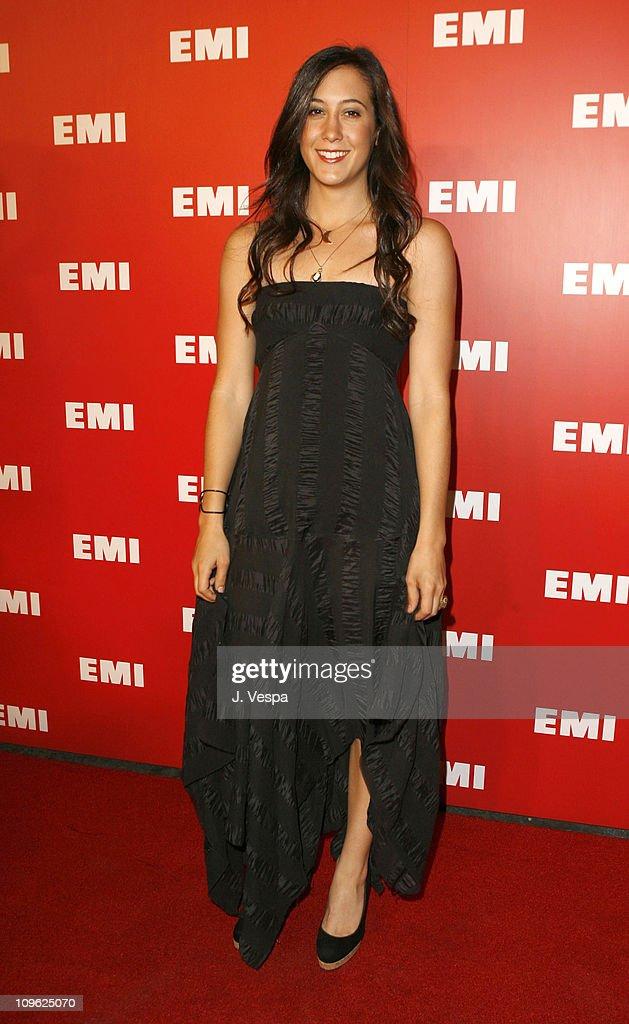 Vanessa Carlton at the EMI Post-GRAMMY Party during 2006 EMI Post-GRAMMY Party at Paramount Lot in Los Angeles, California, United States.