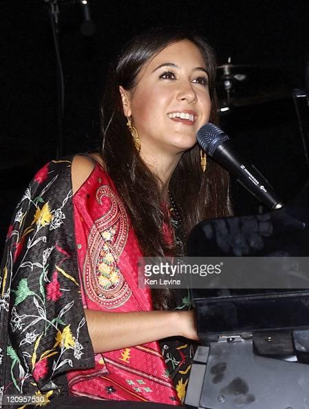 Vanessa Carlton during 971 ZHT Jingle Ball December 1 2004 at Delta Center in Salt Lake City Utah United States
