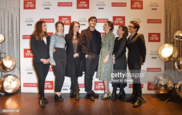 Vanessa Caswill Annes Elwy Emily Watson Jonah HauerKing Maya ThurmanHawke Heidi Thomas and Susie Liggat attend a special screening of new BBC drama...