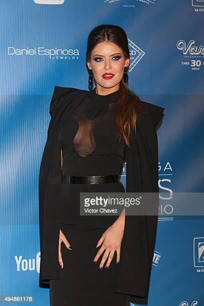 Vanessa Claudio attends Lunas Del Auditorio Nacional 2015 at Auditorio Nacional on October 28 2015 in Mexico City Mexico