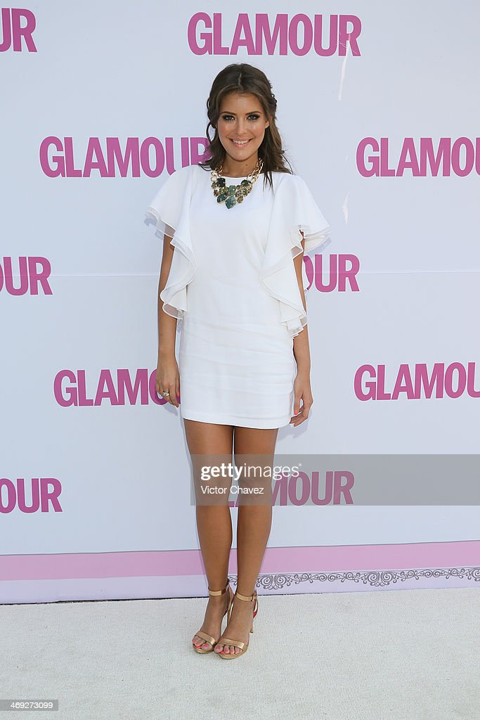 Vanessa Claudio attends the Glamour Magazine México Beauty Awards 2013 at Museo Rufino Tamayo on February 13, 2014 in Mexico City, Mexico.