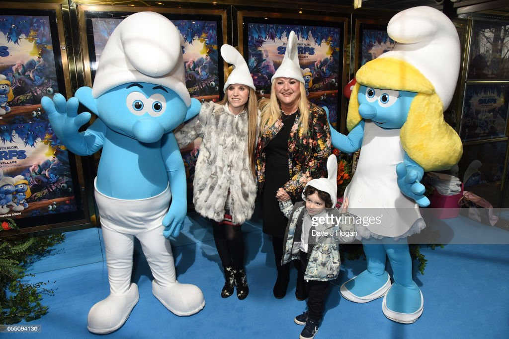 Vanessa Feltz attends the Gala Screening of 'Smurfs: The Lost Village' at Cineworld Leicester Square on March 19, 2017 in London, England.