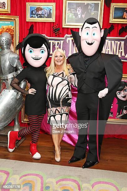 Vanessa Feltz attends the 'Hotel Transylvania 2' Tea Party and Gala Screening at The Soho Hotel on September 27 2015 in London England