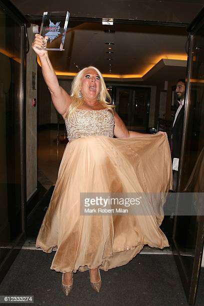 Vanessa Feltz attends the London Lifestyle Awards on October 3 2016 in London England