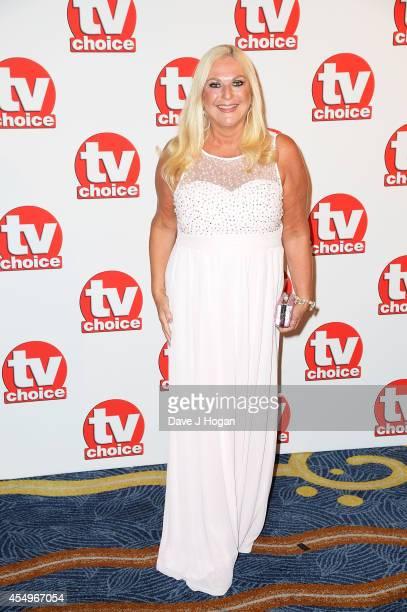 Vanessa Feltz attends the TV Choice Awards 2014 at London Hilton on September 8 2014 in London England