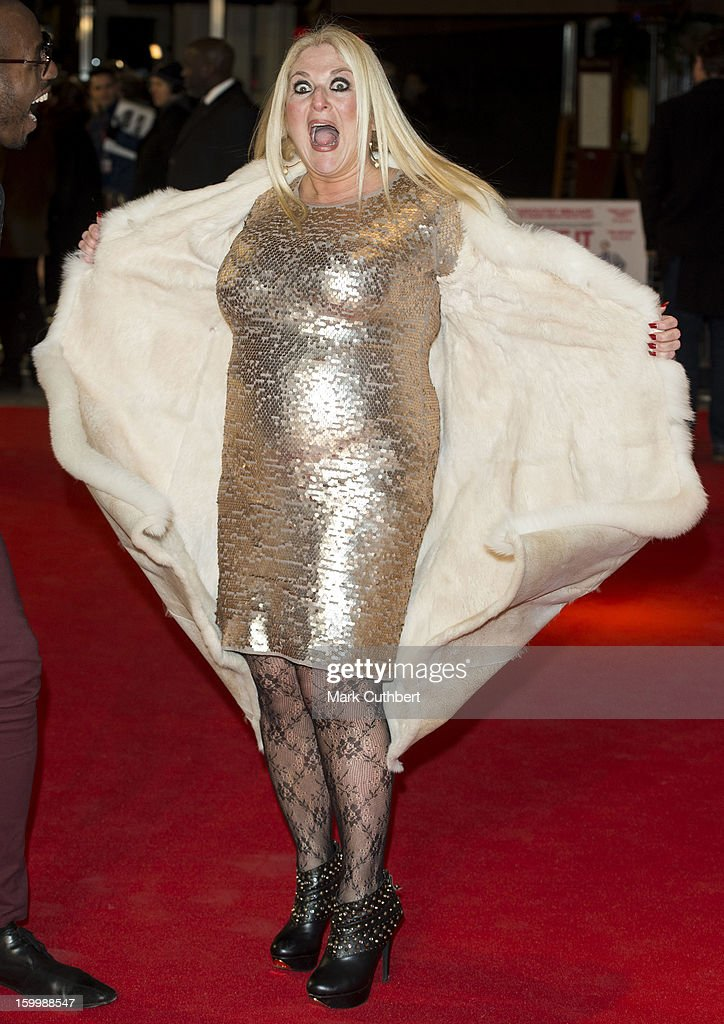 <a gi-track='captionPersonalityLinkClicked' href=/galleries/search?phrase=Vanessa+Feltz&family=editorial&specificpeople=213948 ng-click='$event.stopPropagation()'>Vanessa Feltz</a> attends the UK Premiere of 'I Give It A Year' at Vue West End on January 24, 2013 in London, England.