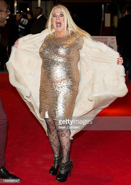 Vanessa Feltz attends the UK Premiere of 'I Give It A Year' at Vue West End on January 24 2013 in London England