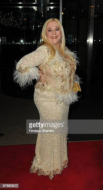 Vanessa Feltz attends the Variety Club Dinner and Ball at London Hilton on March 13 2010 in London England