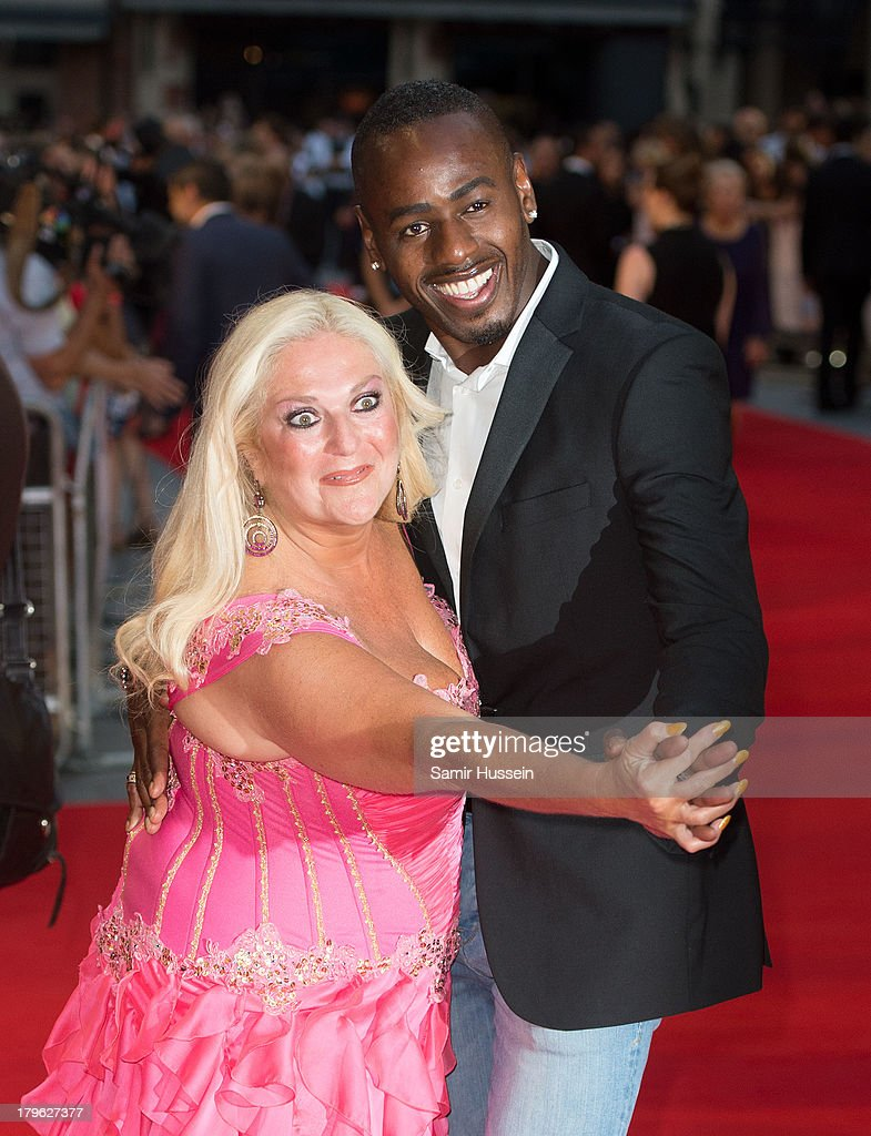 Vanessa Feltz; Ben Ofoed attend the World Premiere of 'Diana' at Odeon Leicester Square on September 5, 2013 in London, England.