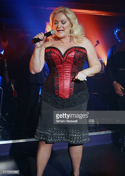 Vanessa Feltz during Soho Revuebar Renaming Party at Too2Much in London Great Britain