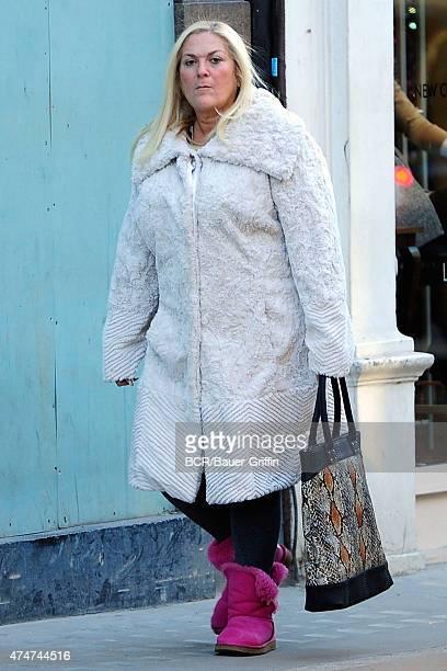 Vanessa Feltz is seen on November 15 2012 in London United Kingdom