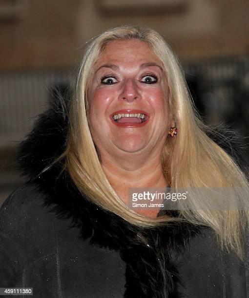 Vanessa Feltz sighting at the BBC on November 17 2014 in London England