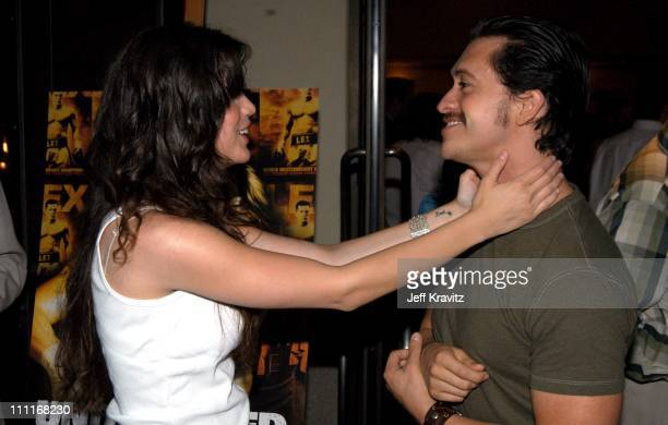 Vanessa Ferlito and Clifton Collins Jr *Exclusive*