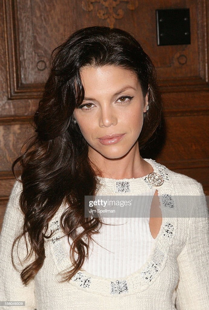 Vanessa Ferlito attends The Cinema Society With Chrysler & Bally Host The Premiere Of 'Stand Up Guys' After Party at The Plaza Hotel on December 9, 2012 in New York City.