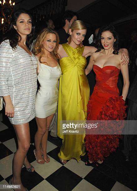 Vanessa Ferlito Jordan Ladd Marley Shelton and Rose McGowan