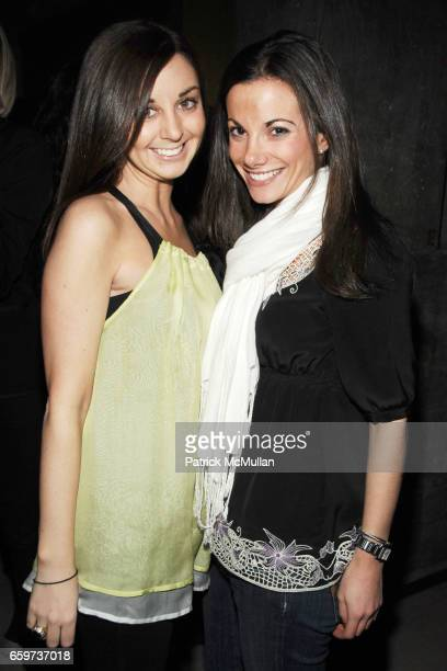 Vanessa Flynn and Danielle Abraham attend THE CINEMA SOCIETY BROOKS BROTHERS host the after party for 'THE GREAT BUCK HOWARD' at Soho Grand Hotel on...