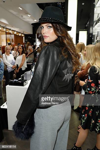 Vanessa Fuchs attends KARL LAGERFELD at the Vogue Fashion's Night Out on September 9 2016 in Duesseldorf Germany