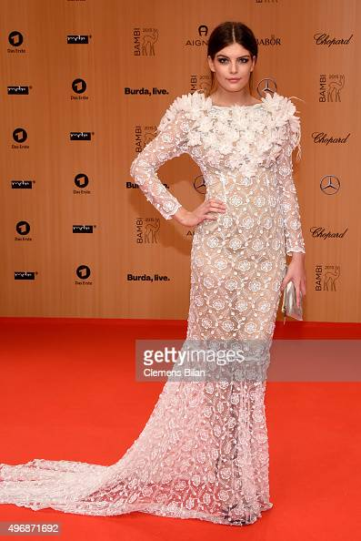 Vanessa Fuchs attends the Bambi Awards 2015 at Stage Theater on November 12 2015 in Berlin Germany