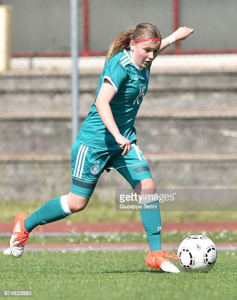 Vanessa Fudalla of Germany U16 in action during the 2nd Female Tournament 'Delle Nazioni' match between Germany U16 and Mexico U16 on April 29 2017...